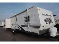 Used 2008 Forest River Wildwood LE 32 BHDS Travel Trailer
