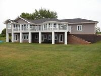Beautiful Ocean front home, on 30 private acres