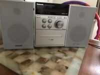 Panasonic CD/Cassette/Radio System