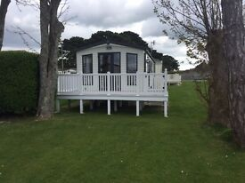 Excellent used Holiday Home only 4 months old, located on a 5* Coastal park Nr Bournemouth