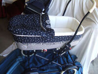 Ragazzi Crib & Dresser + Peg Perego Stroller (3 items)