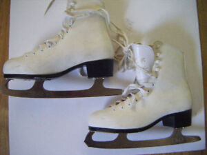 2 Pairs of Girls skates for sale in Truro.....