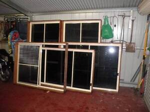 6 aluminium sliding windows tinted glass good condition Liverpool Liverpool Area Preview