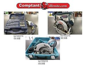 Nous avons les outils que vous avez besoin chez Comptantillimite.com