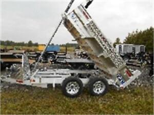 2017 Savage Tandem Trailer.....BAD CREDIT FINANCING AVAILABLE!!