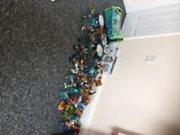 MASSIVE collection of skylanders for ps3 playstation 3 including 50 plus figures