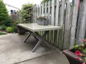Custom Concrete Table Kijiji In Ontario Buy Sell Save With - Custom made concrete table