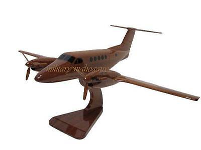Army C-12 Huron Beech Beechcraft Turbo King Air 200 Airplane Wood Wooden - Wooden Airplanes