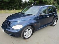 2002 52 CHRYSLER PT CRUISER 2.4 CRUISE CONTROL CD ALLOYS AIR CON LOVELY CONDITION LADY OWNER PX SWAP