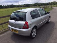 2006 Renault Clio Campus 1,2 litre 3dr 2 owners FSH