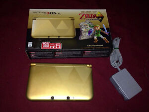 Nintendo 3DS XL - Zelda: A Link Between Worlds Limited Edition H