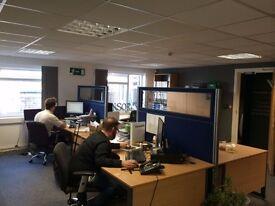 Friendly desk space to Let BRIGHTON