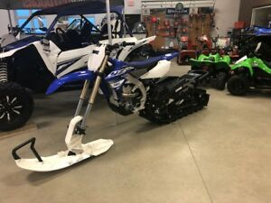 2019 Yamaha YZ450FX Snow Bike