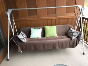 Eatons Swing for your covered deck or sun porch