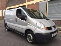 Renault Trafic 2007 2.0 SL27dCi 115 4 door NO VAT, SIDE LOADING DOOR, BARGAIN