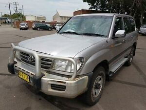2003 Toyota Landcruiser HDJ100R GXL (4x4) Silver 5 Speed Manual Wagon Georgetown Newcastle Area Preview