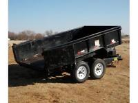 2007 Dump trailer.... BAD CREDIT FINANCING AVAILABLE !!!