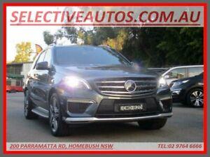 2013 Mercedes-Benz ML63 AMG 166 4x4 Grey 7 Speed Automatic Wagon Homebush Strathfield Area Preview