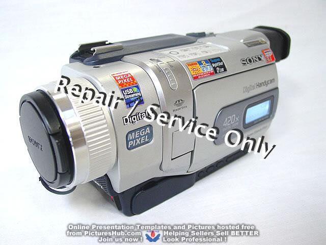 REPAIR / SERVICE of SONY Handycam DCR-TRV740 540 340 240 Camcorder (*READ 1st*)