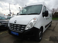 2013 RENAULT MASTER 2.3dCi LM35 125 (FWD) LWB *** CHOICE OF 3 LWB MODELS ***