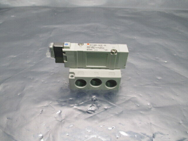 SMC SY7140R-5L0Z-03 Solenoid Valve Manifold, 0.25-0.7MPa, 453742