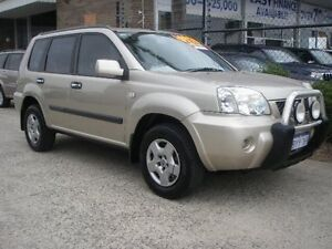 2005 Nissan X-Trail T30 ST (4x4) Gold 4 Speed Automatic Wagon Wangara Wanneroo Area Preview
