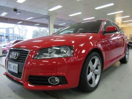 2008 Audi A3 8P Sportback 1.8 TFSI Ambition Red 6 Speed Manual Hatchback Fyshwick South Canberra Preview
