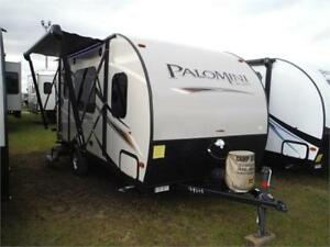 2018 Palomini 160RB Ultra Lite Travel Trailer- only 2859LBS