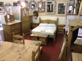 New Solid Cheap Furniture to take home today Sideboards tables TV units Beds etc.