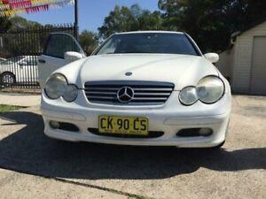 2003 Mercedes-Benz 200 White Automatic Hatchback Merrylands Parramatta Area Preview