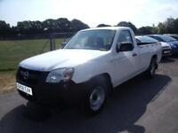 MAZDA BT50 4X2 SINGLE CAB P-U - LOW MILEAGE - White Manual Diesel, 2008