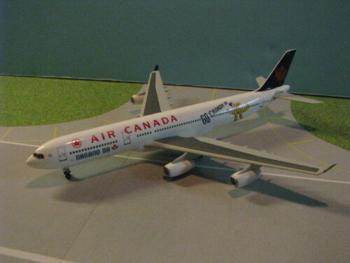 "DRAGON WINGS (55493) AIR CANADA ""NAGANO 98"" A340-300 1:400 SCALE DIECAST MODEL"