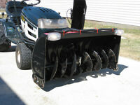 Snow Blower Attachment for garden tractor