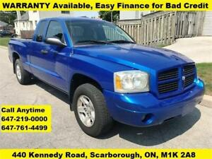 2007 Dodge Dakota ST FINANCE WARRANTY AVAILABLE 126,059 KM