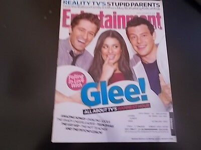 Glee  Lea Michele  Jane Lynch   Entertainment Weekly Magazine 2009