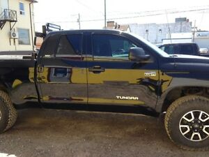 2015 Toyota Tundra SR5 TRD with 7' Boss Plow