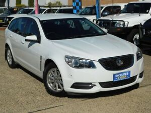 2015 Holden Commodore VF MY15 Evoke White 6 Speed Automatic Sportswagon Belconnen Belconnen Area Preview