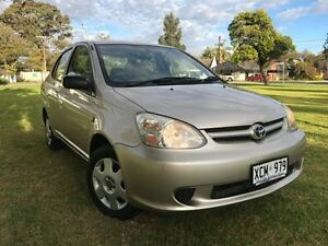 2004 Toyota Echo NCP12R MY03 Gold 4 Speed Automatic Sedan Somerton Park Holdfast Bay Preview