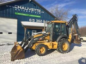 John Deere 410 J Loader Backoe