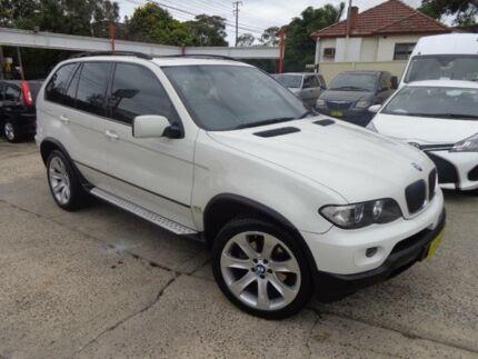 2005 BMW X5 E53 3.0I White 5 Speed Auto Steptronic Wagon Sylvania Sutherland Area Preview