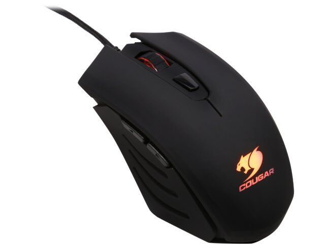Cougar 200M Gaming Mouse, 2000 DPI, Omron Gaming Switches, LED, Black