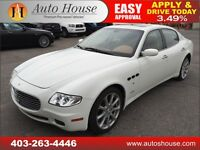2008 MASERATI QUATTROPORTE LOW KMS 90 DAYS NO PAYMENTS