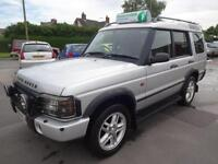 LANDROVER DISCOVERY 2.5 TD5 LANDMARK 4x4~04/2004~5 SPEED MANUAL~5 DOOR~7 SEATER