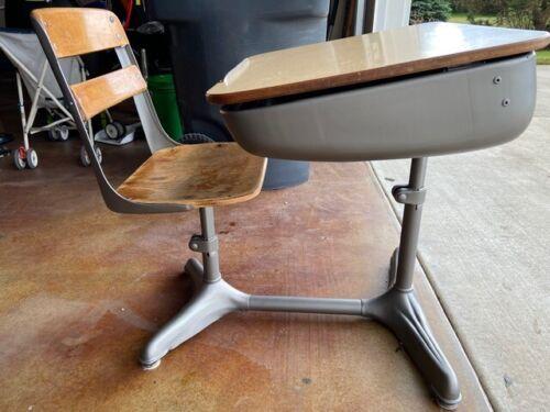 American Seating Co. Amerex Vintage School Desk