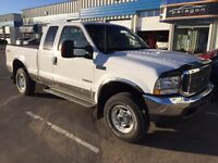 2003 Ford F-250 Lariat FX4 4X4 Extended Cab Diesel 6.0L