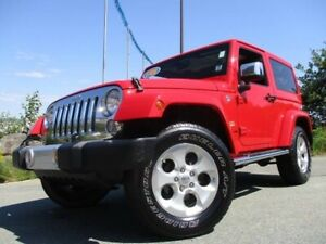 2015 Jeep Wrangler Sahara (CLEAN CARFAX, HARD & SOFT TOPS, HEATE