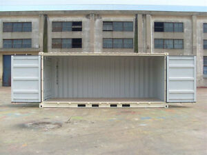 New 20 foot OPEN SIDE Containers