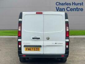 2017 Vauxhall Vivaro 2900 1.6Cdti Biturbo 125Ps H1 Van Van Diesel Manual