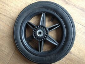 """mountain buggy 12"""" spare rear wheel/tyre part for urban jungle, plus one or duo stroller"""