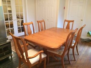 Dinning table with 6chairs